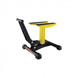 Cavalletto alzamoto CrossPro a leva giallo MX enduro-8200100008-
