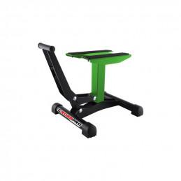 Cavalletto alzamoto CrossPro a leva verde MX enduro-8200100009-