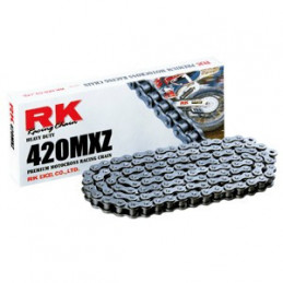 Catena RK passo 420 cross professionale senza O-RING 140 maglie