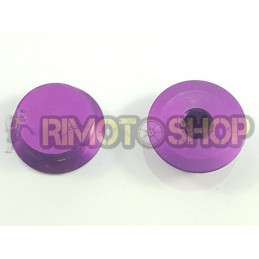 X2 Tappi carter frizione CNC viola Aprilia RS MX SX RX 125 ROTAX122