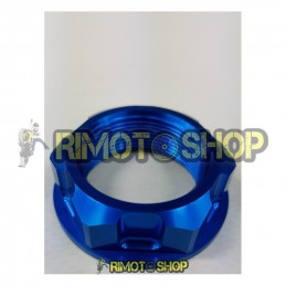 Suzuki RM 250 04-08 Dado piastra di sterzo blu-DS88.0002B-NRTeam