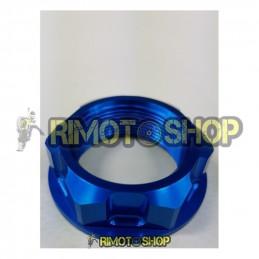 Honda CR 500 99-01 Dado piastra di sterzo blu