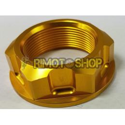 Honda CR 125 93-00 Dado piastra di sterzo oro-DS88.0002O-NRTeam