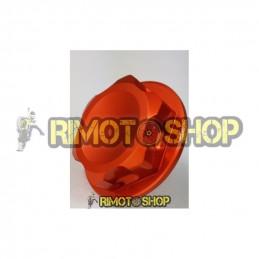 Husaberg 125 TE 12-14 Dado piastra di sterzo arancione