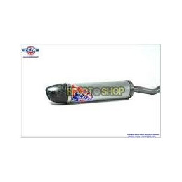 Scalvini TM SMR 125 08-17 Silenziatore Alu-Carb