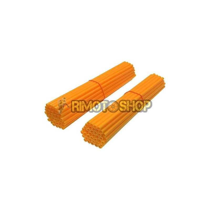 Set 80 copriraggi arancioni fluo