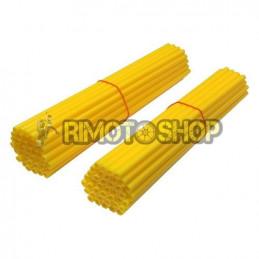 Set 80 copriraggi gialli