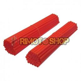 Set 80 copriraggi rossi fluo-SKSK.FR-NRTeam