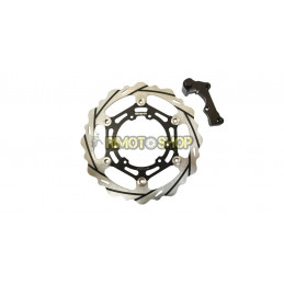 Oversized Typhoon Front Brake Rotor Kit Honda CRF 450 R (04-14)