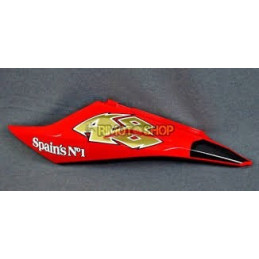 HULL TAIL SX RED FLUO APRILIA RS 125 06-10