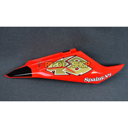 HULL TAIL RH RED FLUO APRILIA RS 125 06-10