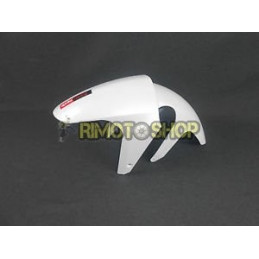 FRONT FENDER WHITE + STICKER APRILIA RS 125 06-10