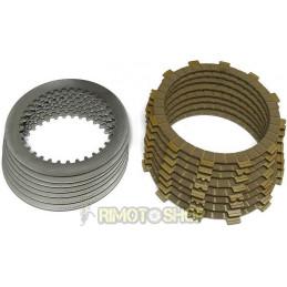 APRILIA Tuono 50 03/04 Clutch discs Garnished kit + Steel