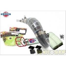 KTM 125 16-17 KIT PRE-SEASON Scarico +Filtri + Gabbia+ Spessore + kit Lana