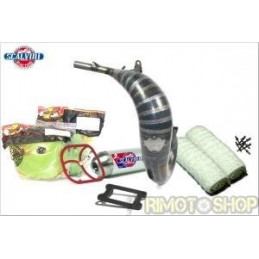 KTM 65 16-17 KIT PRE-SEASON Scarico +Filtri + Gabbia+ Spessore + kit Lana
