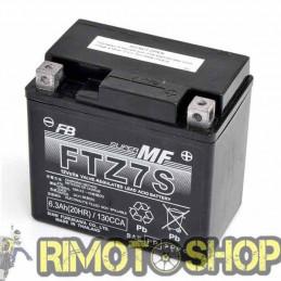 SUZUKI DR-Z 250 01/07 Batteria FTZ7S Attivata-FTZ7S-FURUKAWA