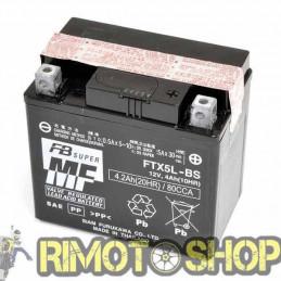 SUZUKI 125 86/90 Batteria FTX5L-BS Acido a
