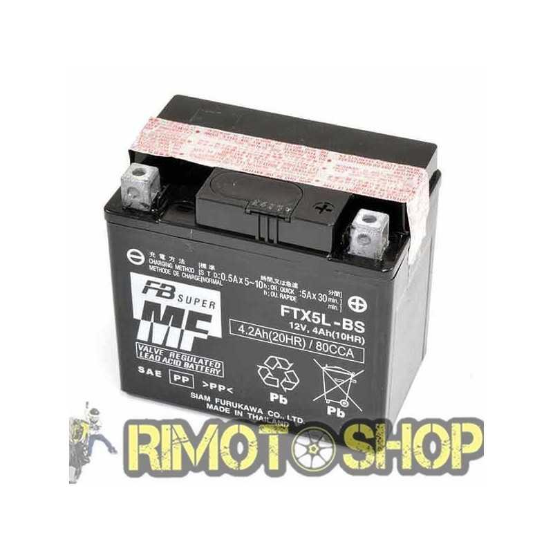HONDA CRF X ME11 250 04/17 Batteria FTX5L-BS Acido a corredo