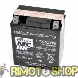 SUZUKI RG F Gamma NF41A N/ R 125 92/95 Batteria FTX7L-BS Acido