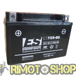 KAWASAKI Z ADS 800 13/15 Batteria ESTX9-BS Acido a corredo