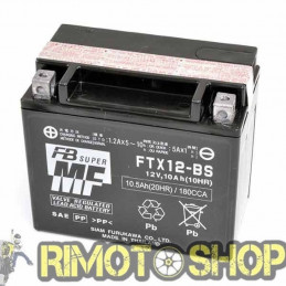 APRILIA Shiver GT 750 09/09 Batteria FTX12-BS Acido a corredo