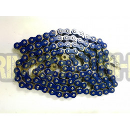 Catena MX Chain 520 enduro con RX-RING 120 maglie - blu