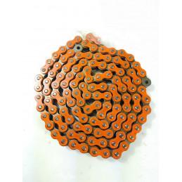 Catena MX Chain 520 enduro con RX-RING 120 maglie - arancione