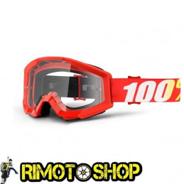 Goggles MX 100% STRATA FURNACE - Lens CLEAR