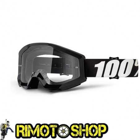 Maschera occhiali 100% STRATA OUTLAW - LENTE CHIARA
