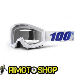 Maschera occhiali 100% STRATA EQUINOX - LENTE CHIARA