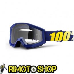 Maschera occhiali 100% STRATA HOPE - LENTE CHIARA