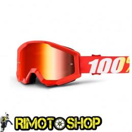 Maschera occhiali 100% STRATA FURNACE - LENTE A SPECCHIO