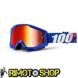 Goggles MX 100% STRATA NATION - Lens MIRROR