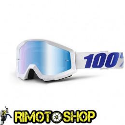 Maschera occhiali 100% STRATA EQUINOX - LENTE A SPECCHIO