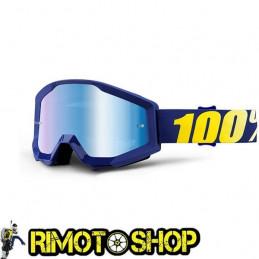 Goggles MX 100% STRATA HOPE - Lens MIRROR