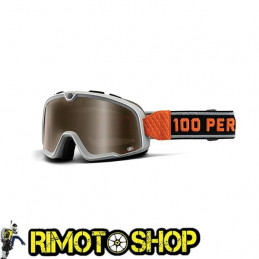 Maschera occhiali 100% BARSTOW BOWERY - LENTE BRONZO