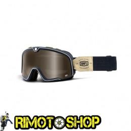 Maschera occhiali 100% BARSTOW RAW - LENTE BRONZO