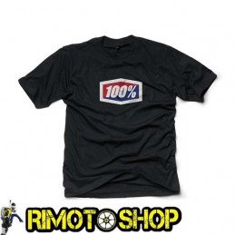 T-SHIRT 100% OFFICIAL BLACK (L)