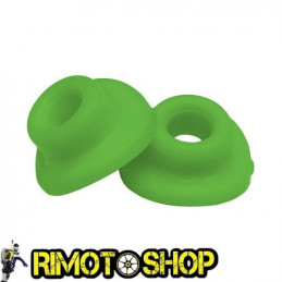 Couple rubbers valve air chamber green
