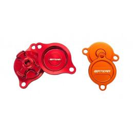 Coperchio filtro olio Husaberg 350 FE 13 blu-DS94.0014B-NRTeam
