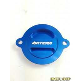 Coperchio filtro olio KTM 500 EXC F 12-16 blu-DS94.0015B-NRTeam