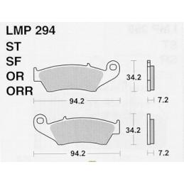 Pastiglie freno AP Beta RR 498 12-14 anteriori race