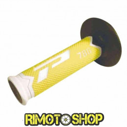 Manopole CROSS PROGRIP 788 TRIPLE DENSITY GIALLO FLUO-431082-ProGrip