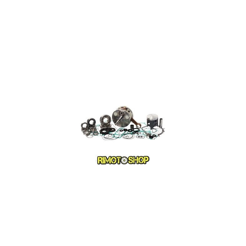 New complete full engine rebuild kit piston crankshaft gaskets 86-91 Honda CR80R