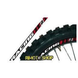 RIM ADESIVI GRAFICHE RED MOTOCROSS ENDURO MOTARD-5081/60-Blackbird Racing