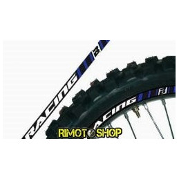 RIM ADESIVI GRAFICHE BLU/BLUE MOTOCROSS ENDURO MOTARD-5081/70-Blackbird Racing