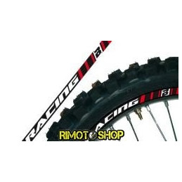 RIM ADESIVI GRAFICHE ROSSO/RED MOTOCROSS ENDURO MOTARD-5081/60-Blackbird Racing