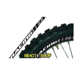 RIM ADESIVI GRAFICHE GRIGIO/GREY MOTOCROSS ENDURO MOTARD-5081/20-Blackbird Racing