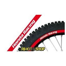 RIM ADESIVI GRAFICHE HONDA RACING ROSSO/RED MOTOCROSS ENDURO