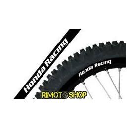 RIM ADESIVI GRAFICHE HONDA RACING NERO/BLACK MOTOCROSS ENDURO
